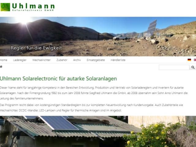 Uhlmann Solarelectronic GmbH
